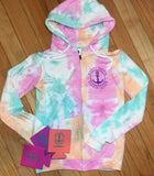 Nauti Hippie Tie dye zip up