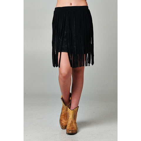 Wild&Free / weaved fringed halter top