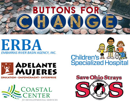 Button Making Kit Giveaway from Buttons for Change, ABM & You