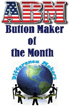 Meet the May ABM Button Maker of the Month - Lana Anderson!