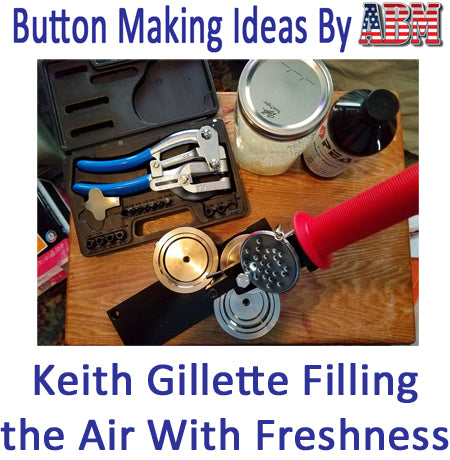 Button Making Ideas - Air Fresheners and Diffuser Pendants