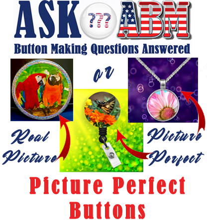 How Can I Take Pictures of My Buttons For My Online Store?  Button Making Questions Answered, Ask ABM