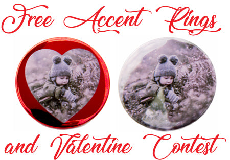 Free Accent Rings to Show Your Buttons Some Love This Valentine's Day!