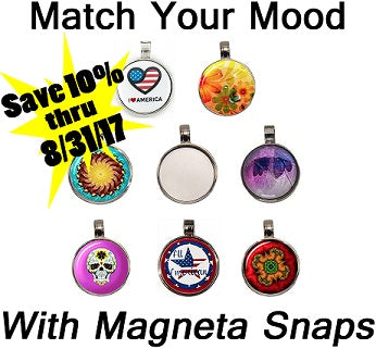 Lower Prices PLUS 10% Off on NEW Magneta Snap Pendant Kits!