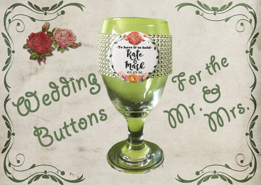 Wedding Button Ideas to Make That Special Day Perfect!