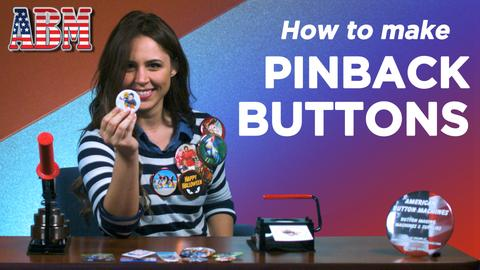How To Make a Pinback Button - Video Tutorial