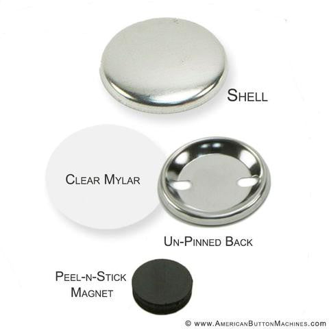 "1.5"" Button Supplies"