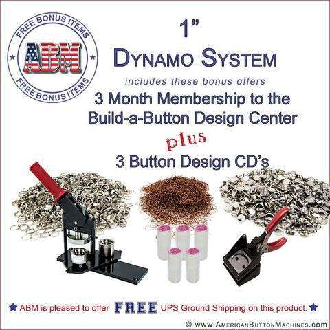 Dynamo Button Making Kits