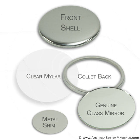 Mirror Back Buttons