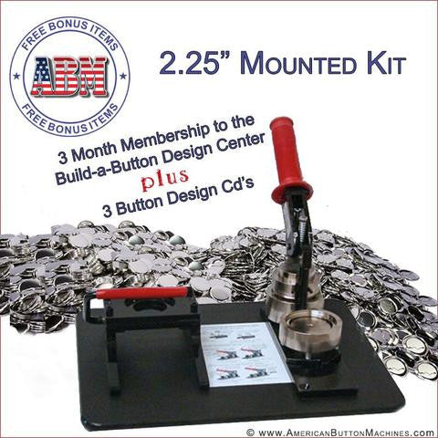 Mounted Button Making Kits