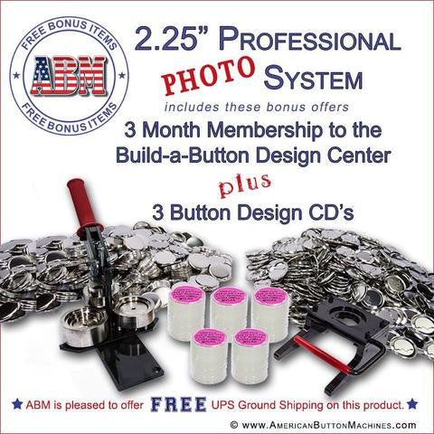 Photo Button Making Kits