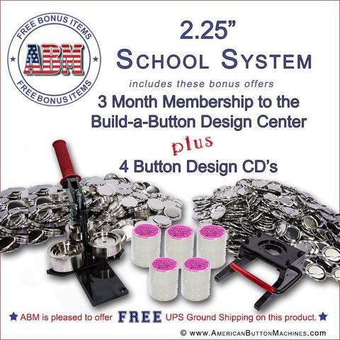 Button Making Kits for Schools