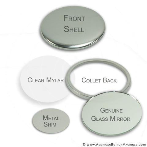 "3"" Standard Button Supplies"