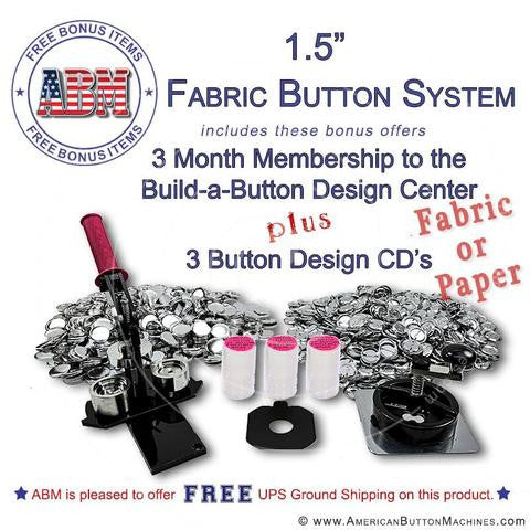 Fabric Button Making Kits