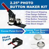 Photo Button Maker Kit