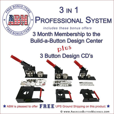 professional button maker kit