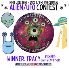 Alien UFO Contest Winner