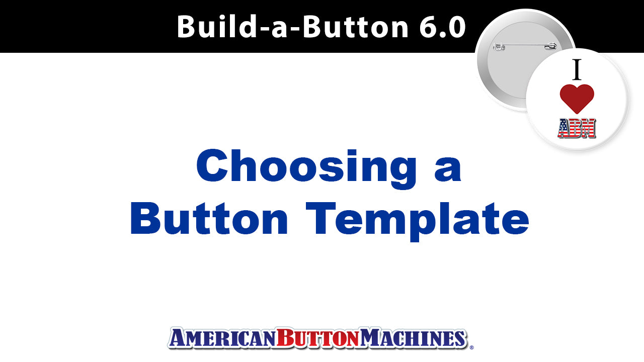 Button Templates: Choosing the Right Size