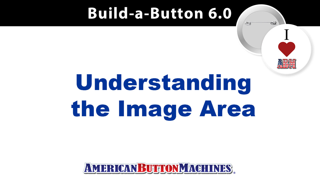 Image Area: Defining the Different Areas in a Button Design