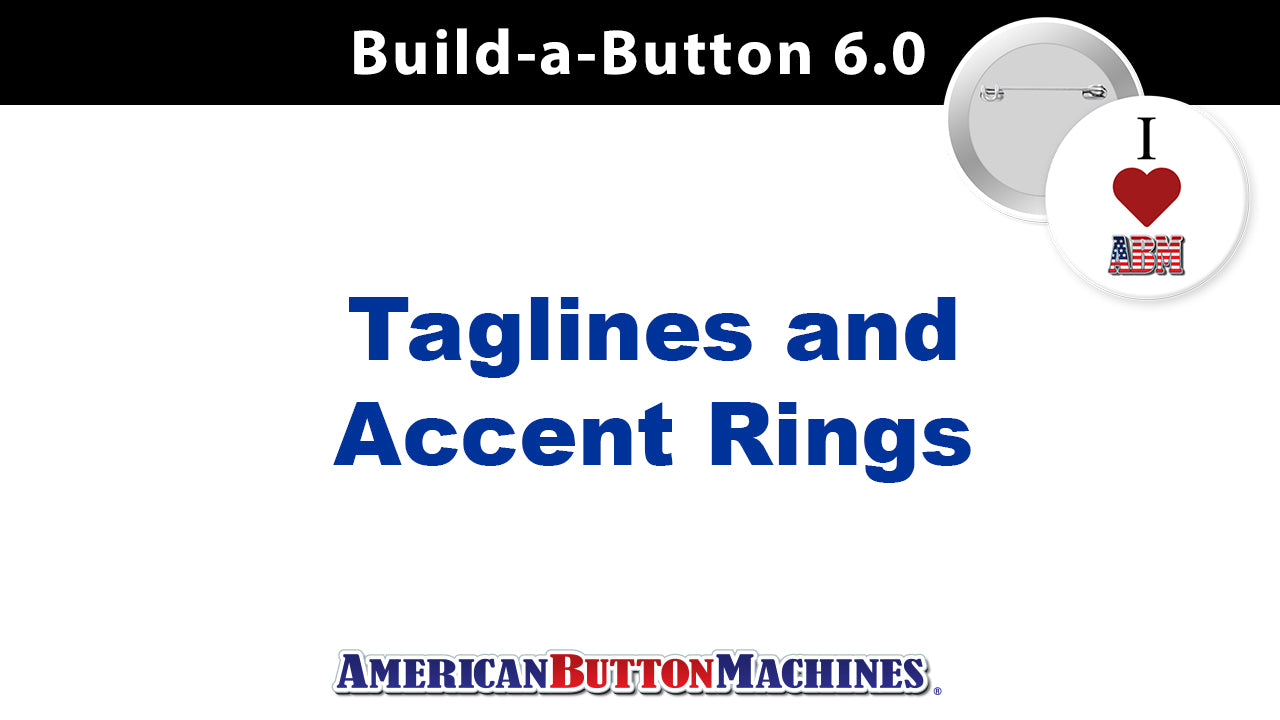 Taglines and Accent Rings