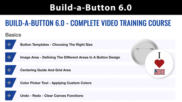 Build-a-Button Video Training Course