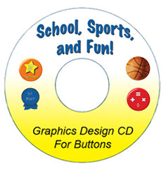 school award sports images for pinback buttons