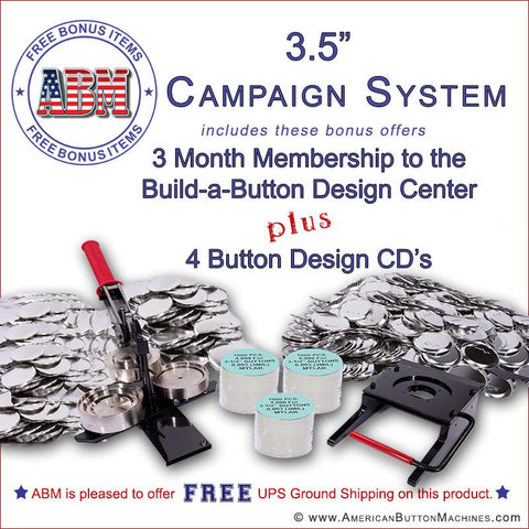 campaign button maker kit