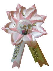 Birthday Princess Button Corsage