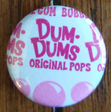 Dum Dum Wrapper Button