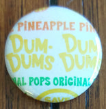 Dum Dum Wrapper Pinback Button