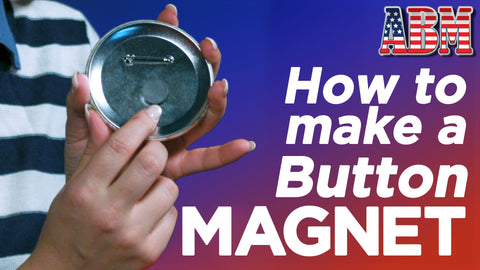 How to Make a Refrigerator Magnet Button