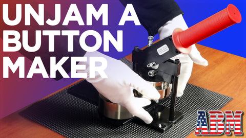 How to Unjam a Button Maker