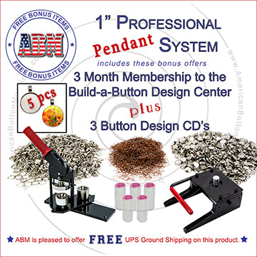 Professional-Button-Making-Pendant-System