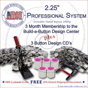 "2.25"" Professional Button Making System"
