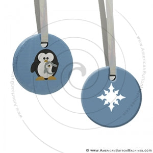 Christmas Ornament Button Set
