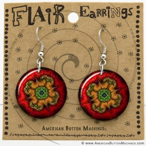 French Wire Earring Button Display