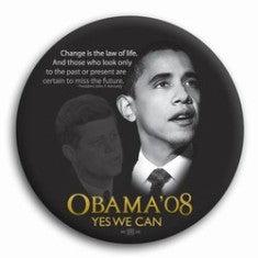 Barack Obama 2008 Campaign Button