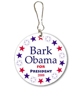Bark Obama Campaign Buttons 2008