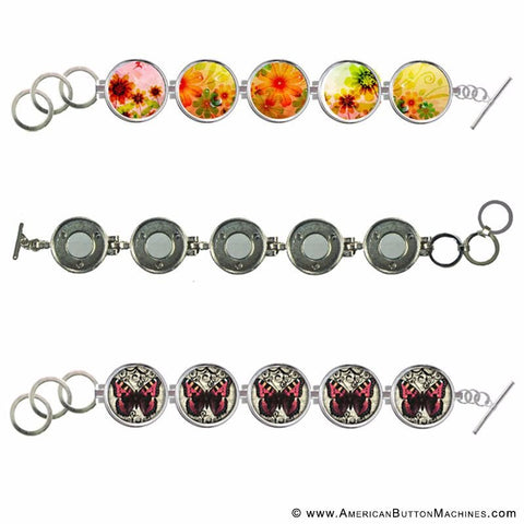 clix interchangeable button bracelet