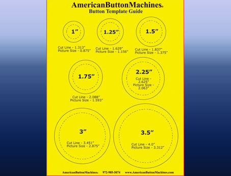 free button maker templates