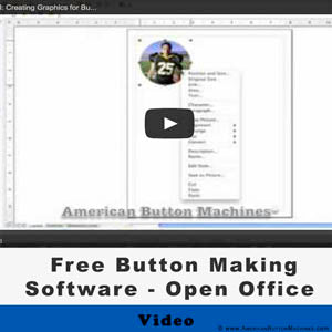 free button maker software american button machines. Black Bedroom Furniture Sets. Home Design Ideas