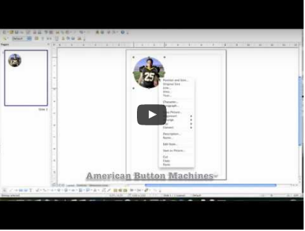 How to Create Graphics for Button Making