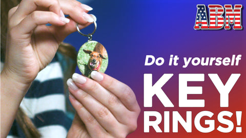 How to Make a Keyring Button