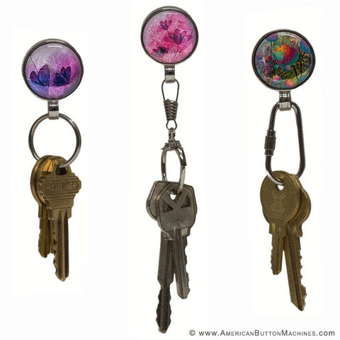magnetasnap interchangeable magnetic jewelry keyrings