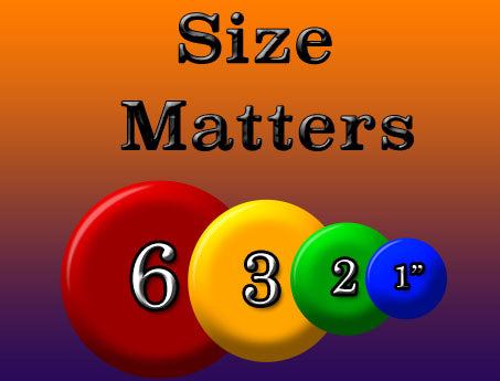 how to pick a button maker size