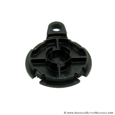 "1.25"" Black Versa-Back - American Button Machines"