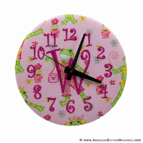 "6"" Button Clock Sets"