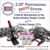 "2.25"" Professional Photo Button Kit"