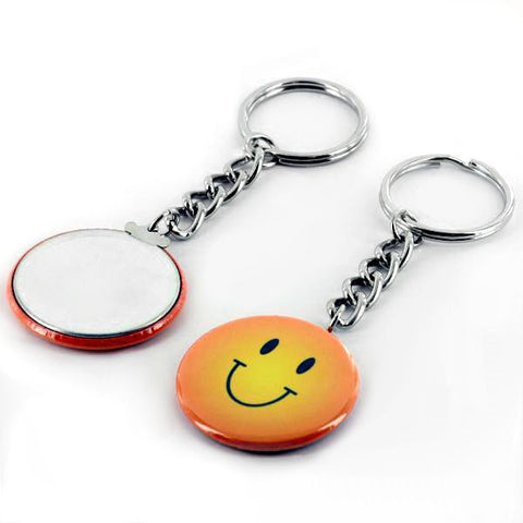 1 5 chain key ring american button machines