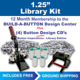 "1.25"" button maker kit for libraries"